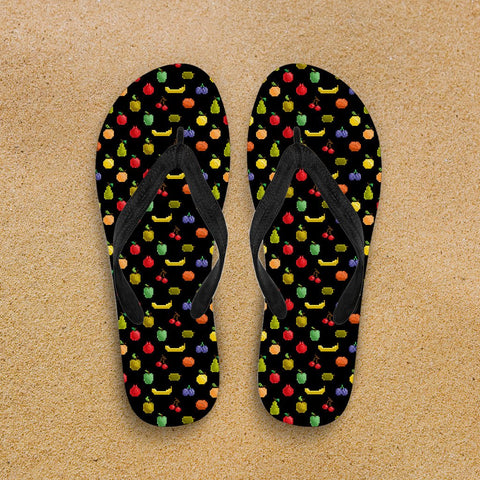 Image of Bitmap Fruit Flip Flops