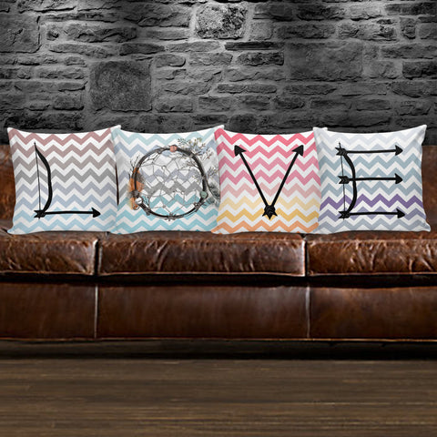 Image of Native American LOVE Pillow Cover