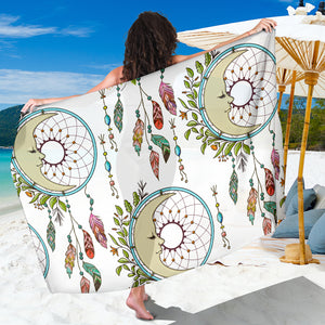 Sleeping Moon Dreamcatcher Sarong