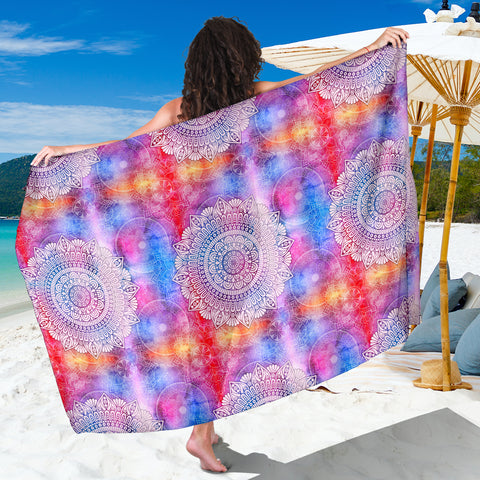 Image of Colorful Mandala Sarong