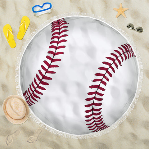 Image of Baseball Beach-Picnic Blanket