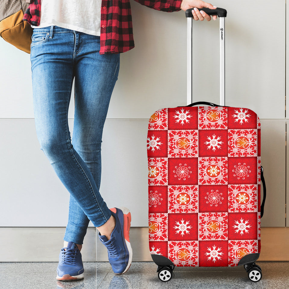 Christmas Quilt Luggage Cover