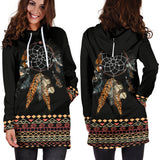 Tribal Dream Hoodie Dress
