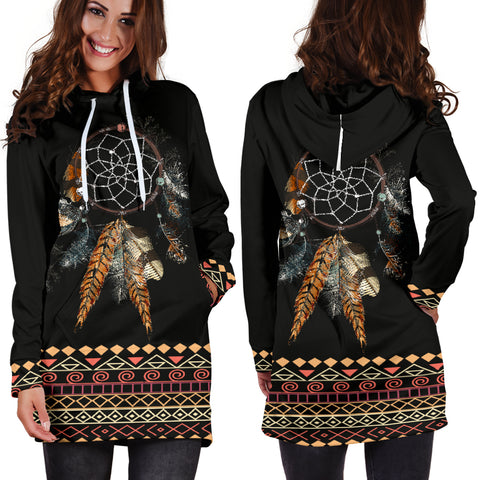 Image of Tribal Dream Hoodie Dress