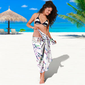 Watercolor Dreamcatchers Sarong