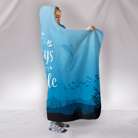 Image of NP Reason To Smile Hooded Blanket