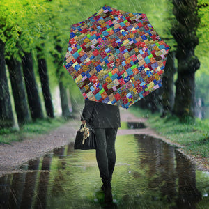 Colorful Quilt Umbrella
