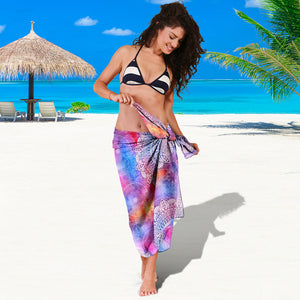Colorful Mandala Sarong
