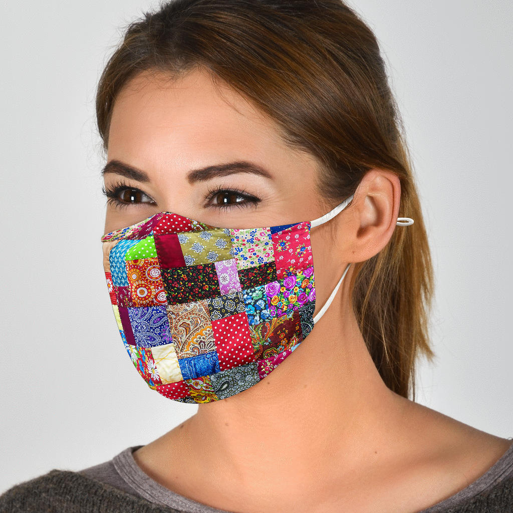 Colorful Quilt Face Mask