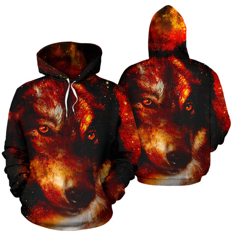 Image of Wolf Galaxy Hoodie