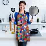 Colorful Quilt Apron