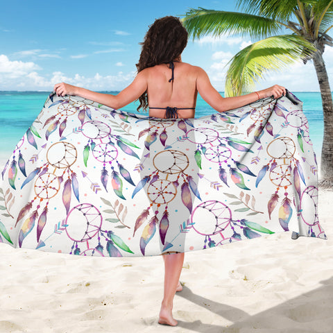 Image of Watercolor Dreamcatchers Sarong