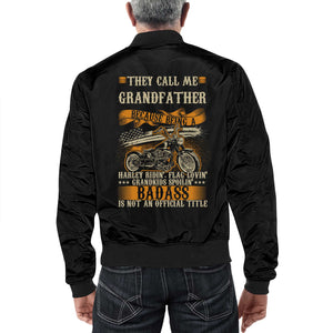 Grandfather Bomber Jacket