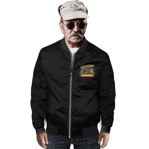 Image of Grandfather Bomber Jacket