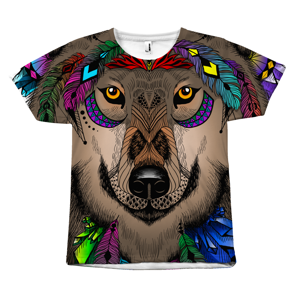 Dream Wolf Unisex Tshirt