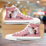 """I Do"" Bachelorette Party High-Top Shoes"