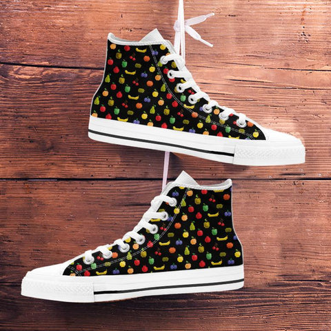 Image of Bitmap Fruit Womens High Tops