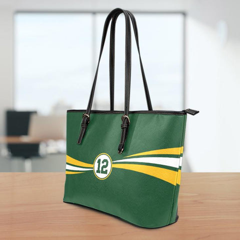 Image of GB12 Large Leather Tote Bag