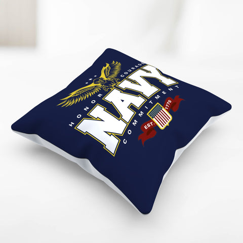Image of Navy Pillowcase