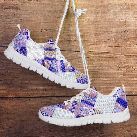 Image of Blue Country Quilt Sneaker