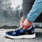 Denim Patch Quilt Sneaker