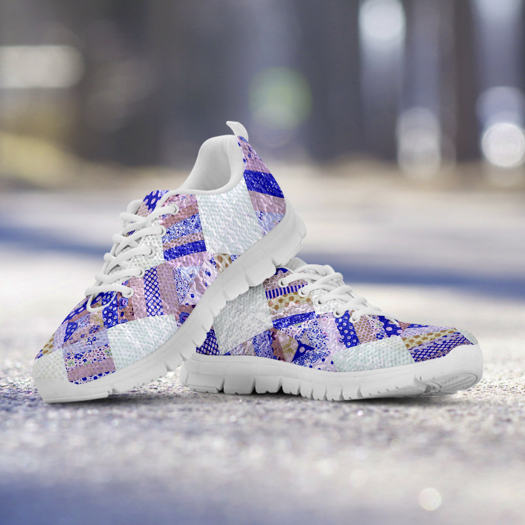 Blue Country Quilt Sneaker