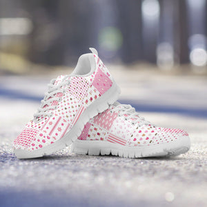 Pretty in Pink Quilt Sneaker