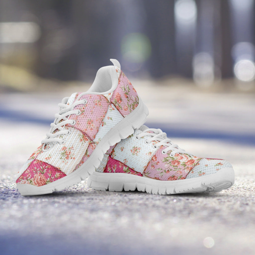Puffy Quilt Sneakers
