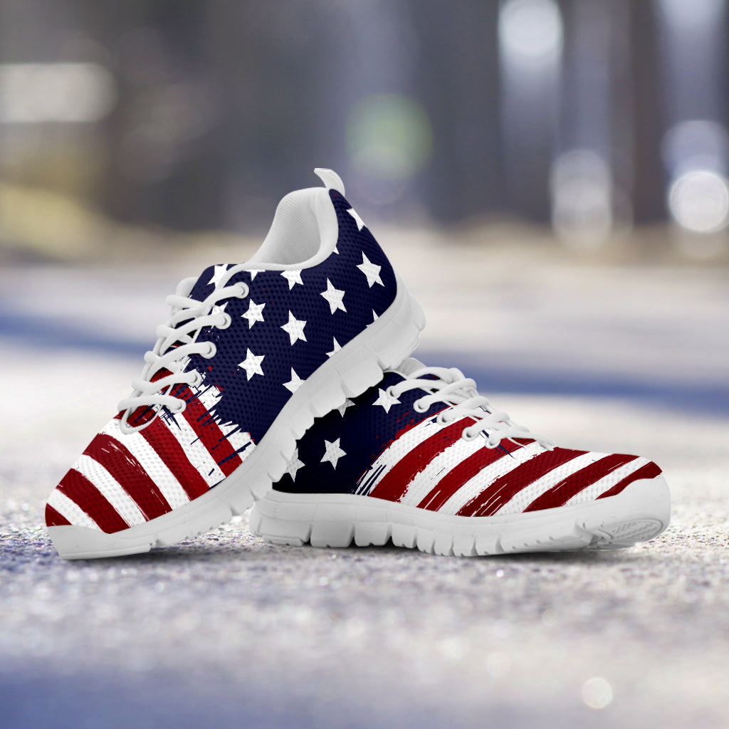 8121f8605ea Women s American Flag Patriotic Sneaker. Tap to expand
