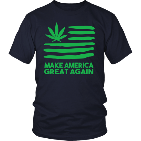 Image of Make America Great Again Weed Shirt