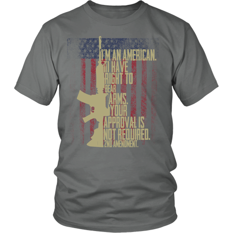 I Have A Right to Bear Arms 2nd Amendment Shirt