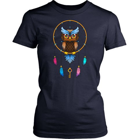 Image of Dreamcatcher Owl T-Shirt