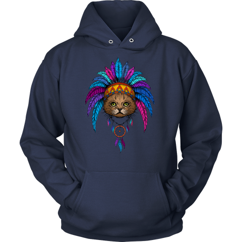 Dreamcatcher Brave Cat Shirts and Hoodies