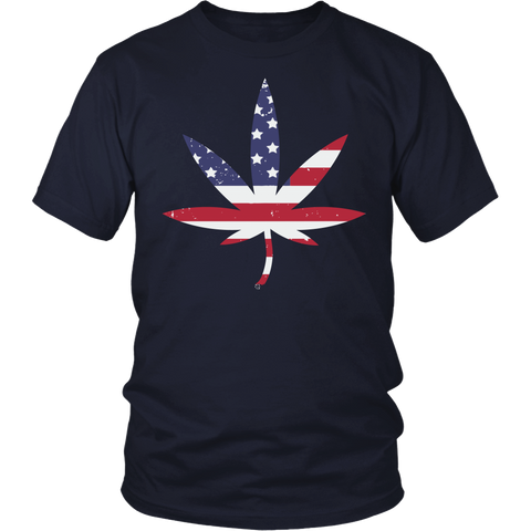 Image of American Weed T-shirt or Hoodie