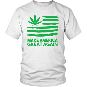 Make America Great Again Weed Shirt