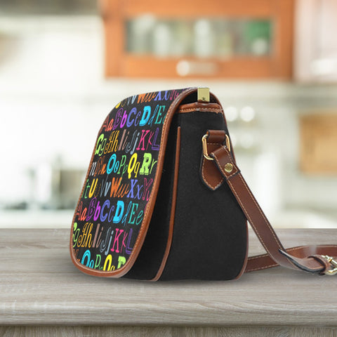 Image of I Teach Saddle Bag