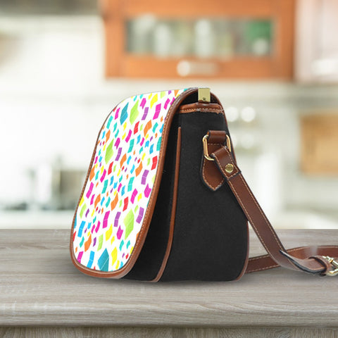 Image of Books Saddle Bag
