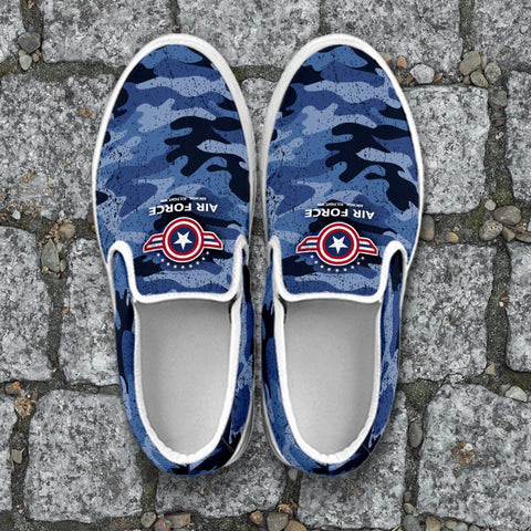 Image of Air Force Slip Ons Ladies