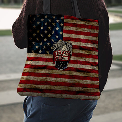 Image of Texas Strong Tote Bag