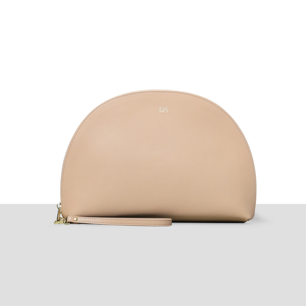 Taupe Moon Clutch