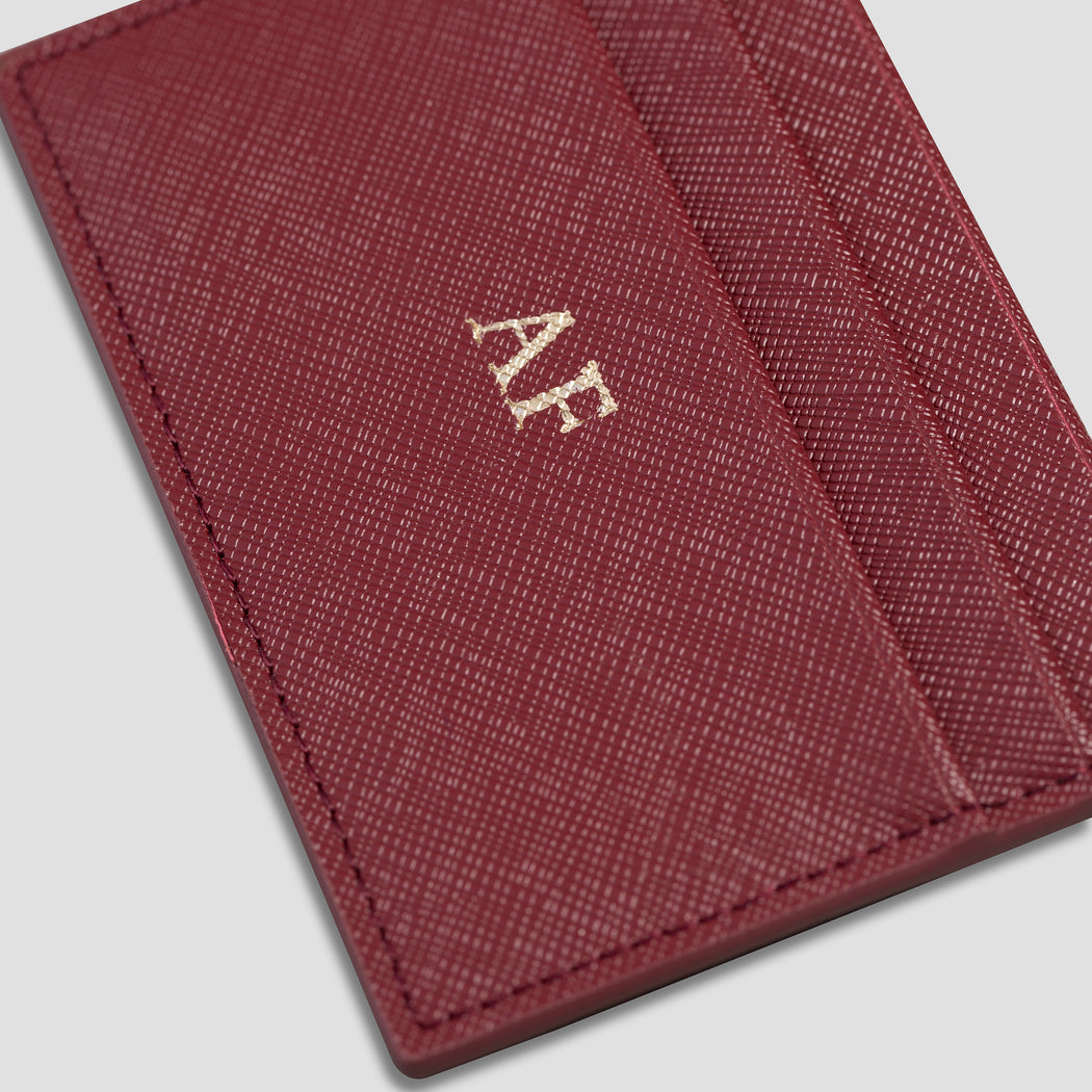 WINE DOUBLE CARDHOLDER