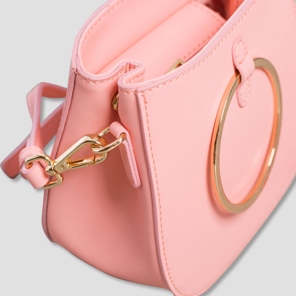 Pink Mini Ring Bag