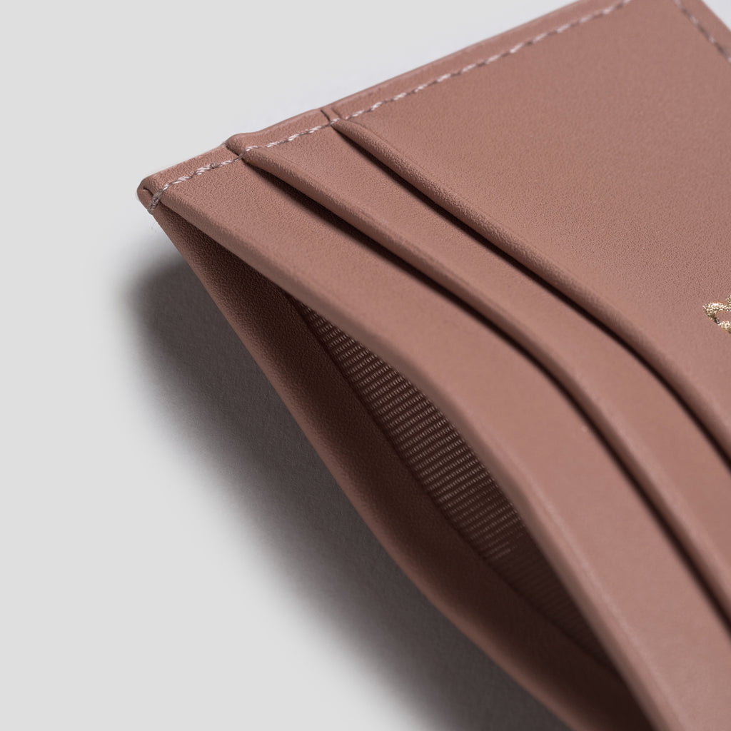 Taupe Smooth Cardholder