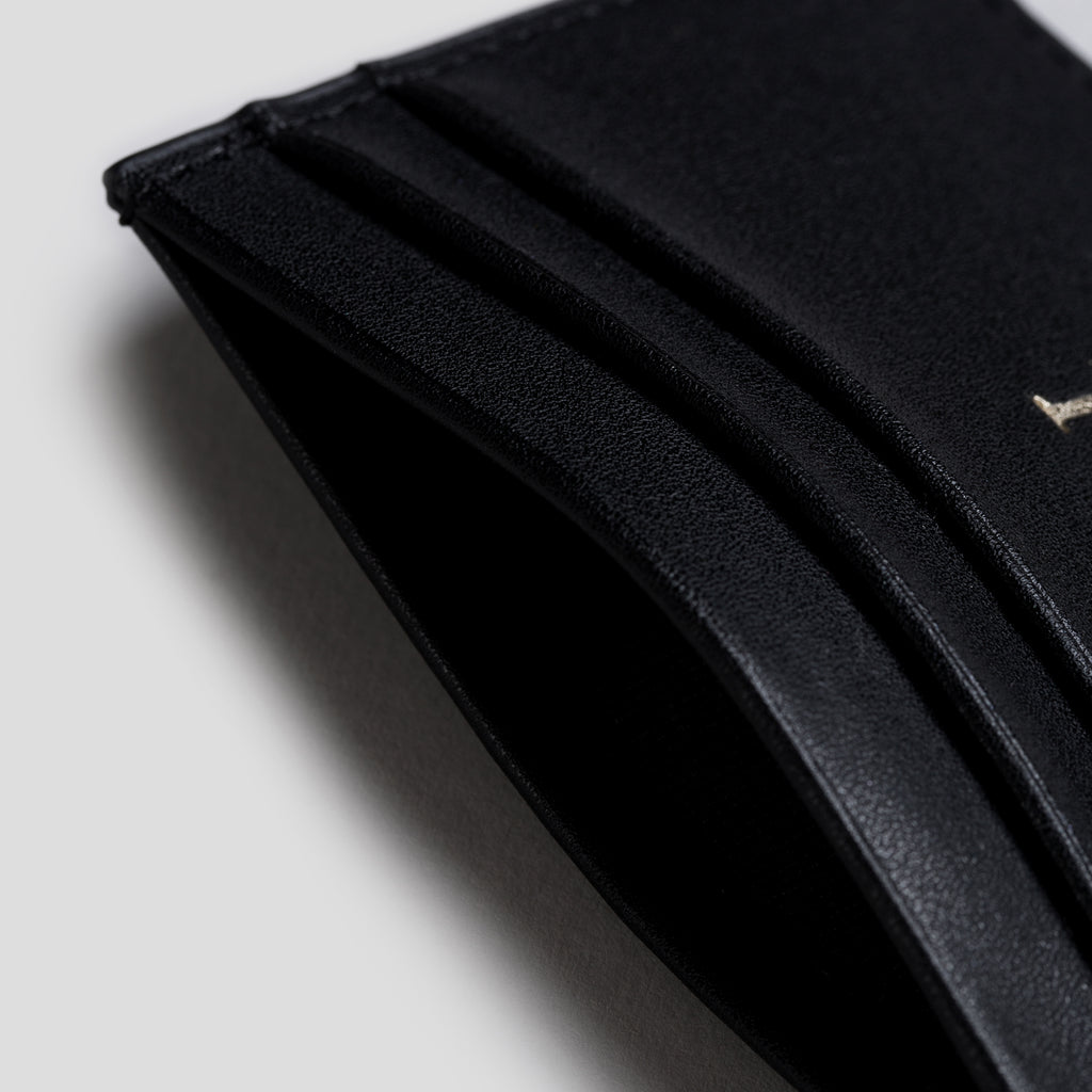 Black Smooth Cardholder