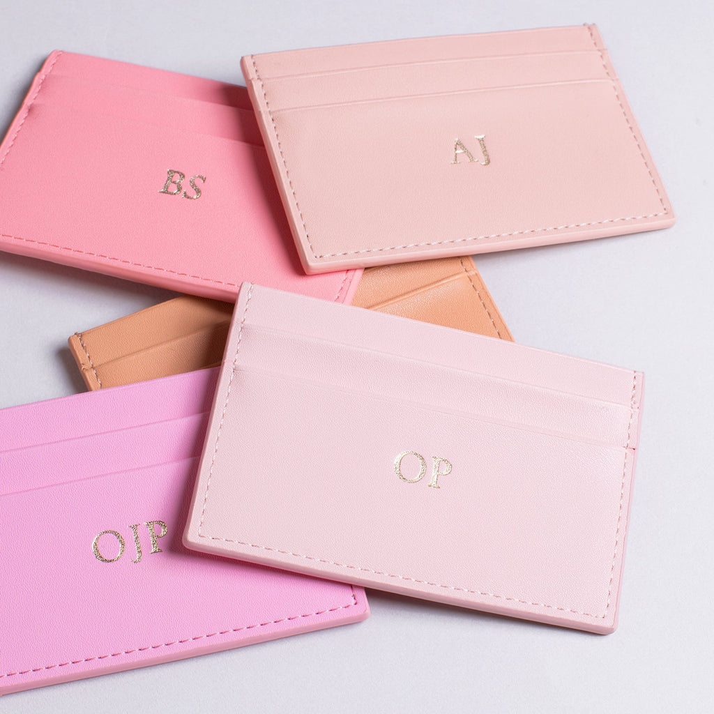 Blush Smooth Cardholder