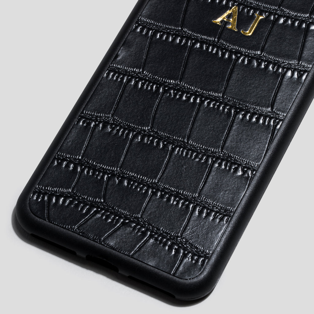 Black Croc iPhone 7+/8+ Case