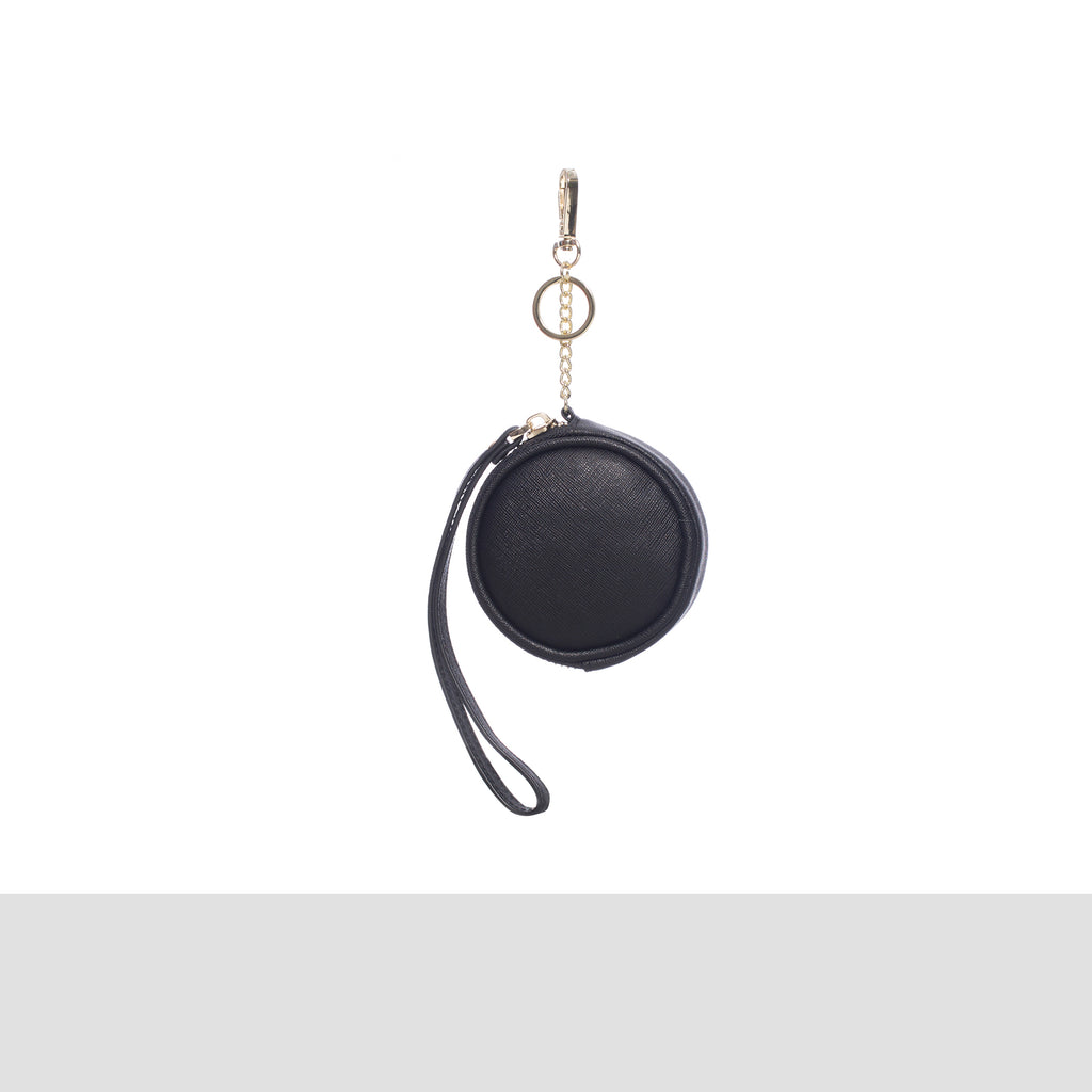 Black Keyring Coin Purse