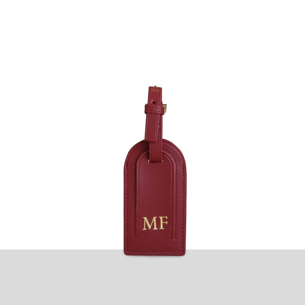 Wine Smooth Luggage Tag