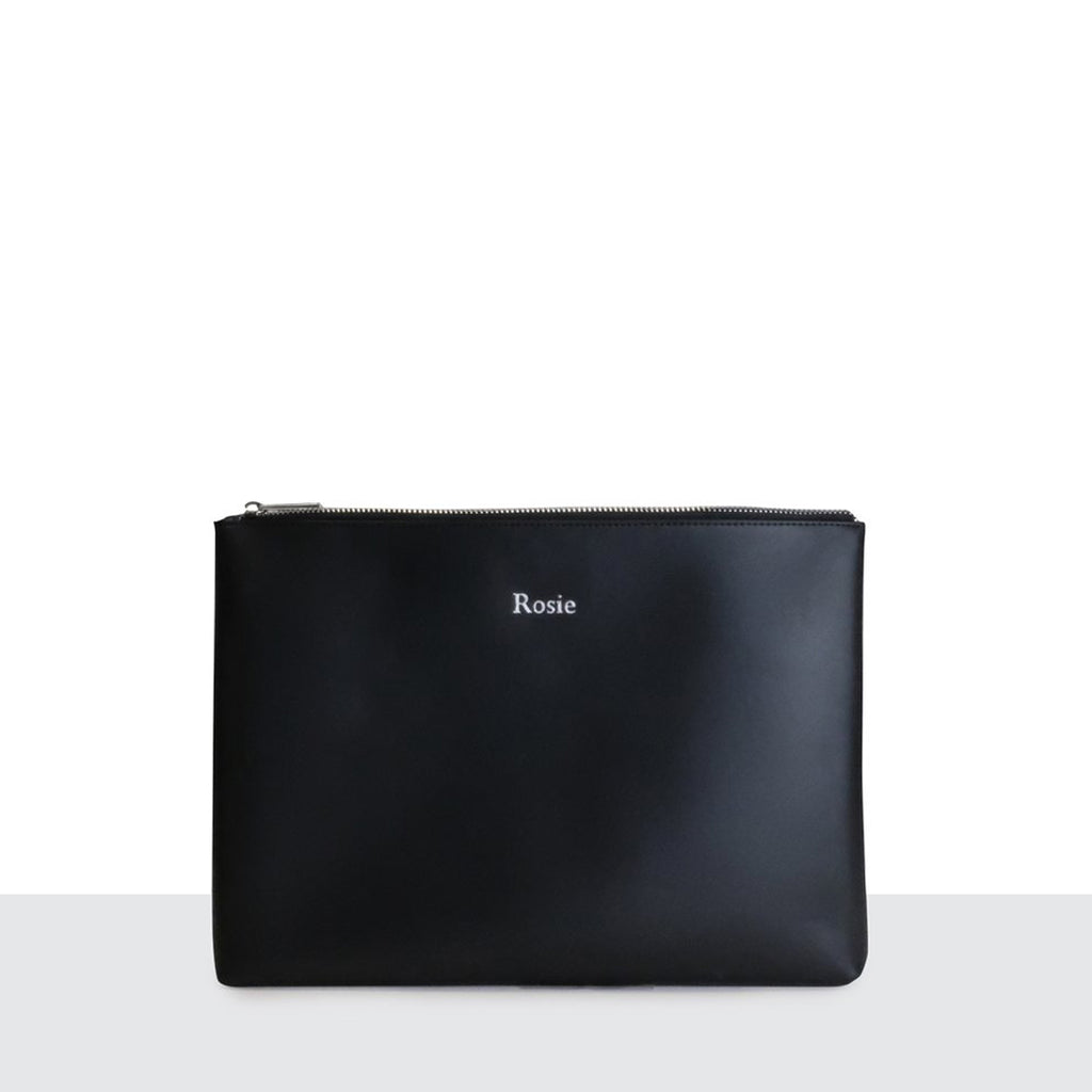 Manhattan Clutch in Black