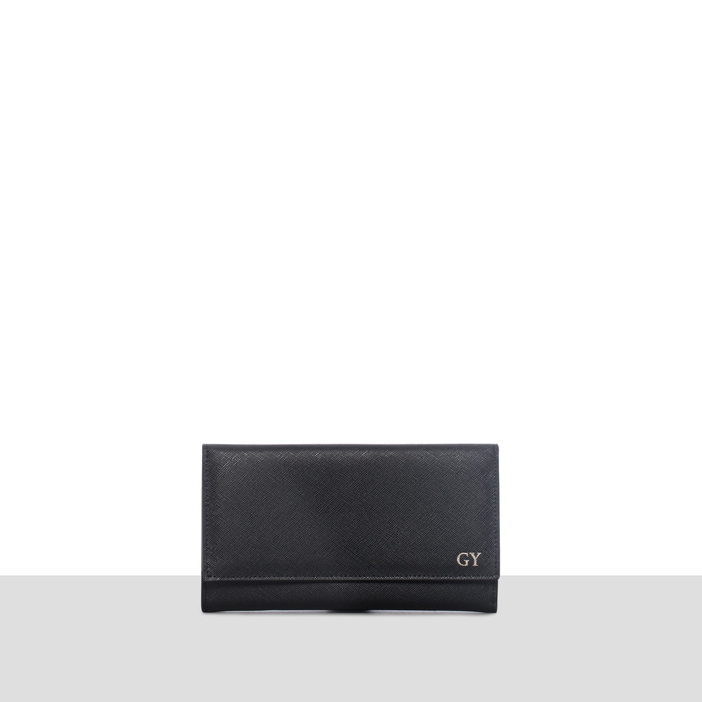 Sentier Wallet in Black